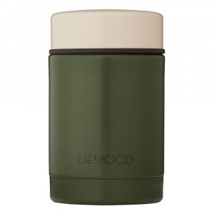 Liewood Thermosbox (250 ml) Panda Hunter Green