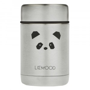 Liewood Thermosbox (250 ml) Panda Stainless Steel
