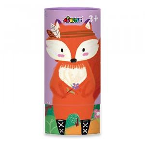 Avenir Zijdezachte Waskrijtjes (12 kleuren) Fox