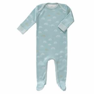 Fresk Pyjama met voetjes Regenboogjes Blauw