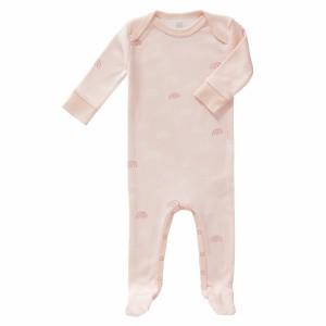 Fresk Pyjama met voetjes Regenboogjes Roze