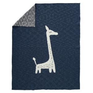 Fresk Gebreide deken 100 x 150 cm Giraf