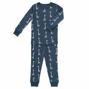 Fresk Pyjama 2-delig Giraf Indigo Blauw