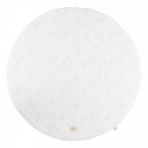 Nobodinoz Full Moon Small Rond Speeltapijt Gold Bubble/White
