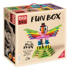 Bioblo Bouwset Fun Box Multi Mix (200 stuks)