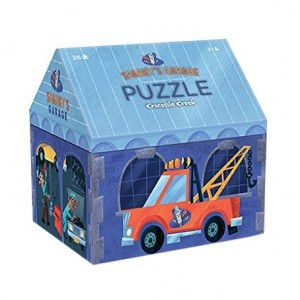 Crocodile Creek Box puzzel Sparky's garage (36 stukken)