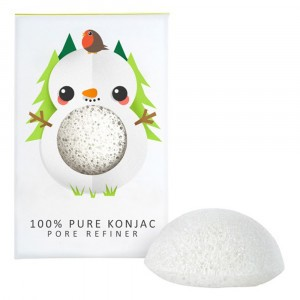 The Konjac Sponge co. Reinigingsspons Sneeuwman
