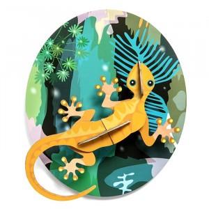 Studio Roof 3D Jungle Animals - Gecko