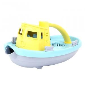 Green Toys Sleepboot Geel handvat