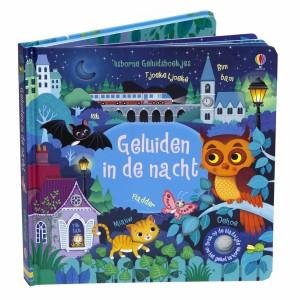 Usborne Geluidenboekje Geluiden in de nacht