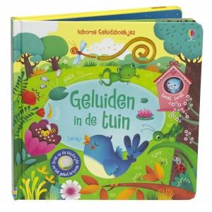 Usborne Geluidenboekje Geluiden in de tuin