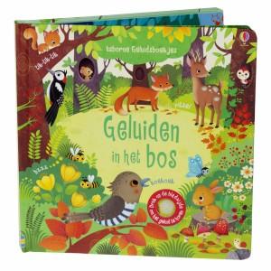 Usborne Geluidenboekje Geluiden in het bos