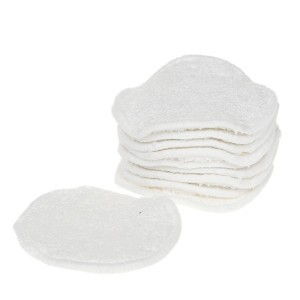 Cheeky Wipes Make-up Remover Pads Bamboe Wit (10 stuks)