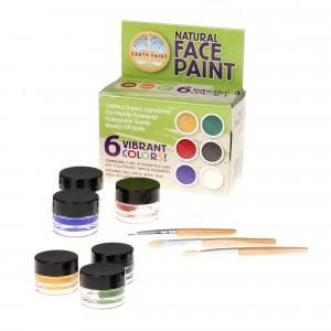 Natural Earth Paint Eco-vriendelijke Gezichtsverf Kit