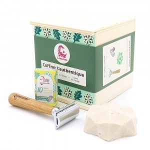 Lamazuna Zero Waste Giftpack - 'Authentiek' Scheerset