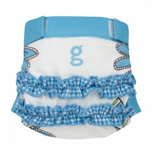 gDiapers Girly Twirly Blauw gPants