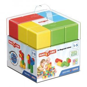 Geomag Magnetisch Speelgoed Magicube Green Line 24-delig