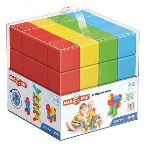 Geomag Magnetisch Speelgoed Magicube Green Line 64-delig