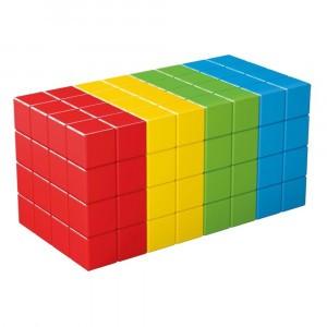 Geomag Magnetisch Speelgoed Magicube Green Line 128-delig