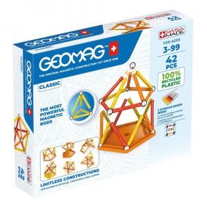 Geomag Magnetisch Speelgoed Classic Green Line 42-delig