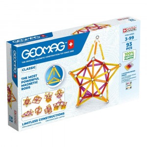 Geomag Magnetisch Speelgoed Classic Green Line 93-delig