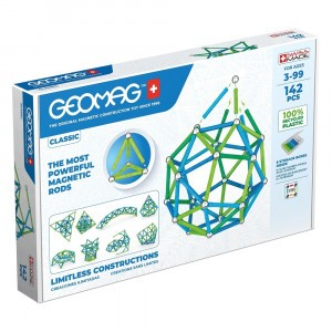 Geomag Magnetisch Speelgoed Classic Green Line 142-delig