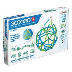 Geomag Magnetisch Speelgoed Classic Green Line 142-delig