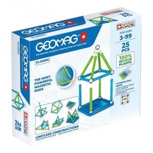 Geomag Magnetisch Speelgoed Classic Green Line 25-delig