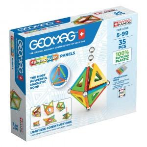 Geomag Magnetisch Speelgoed Super Color Panels Green Line 35-delig