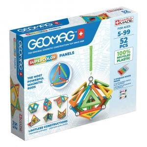 Geomag Magnetisch Speelgoed Super Color Panels Green Line 52-delig