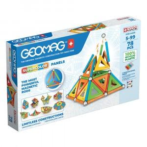 Geomag Magnetisch Speelgoed Super Color Panels Green Line 78-delig