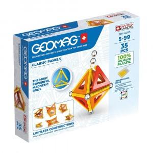Geomag Magnetisch Speelgoed Classic Panels Green Line 35-delig