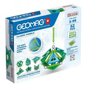 Geomag Magnetisch Speelgoed Classic Panels Green Line 52-delig