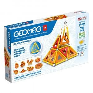 Geomag Magnetisch Speelgoed Classic Panels Green Line 78-delig