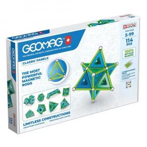 Geomag Magnetisch Speelgoed Classic Panels Green Line 114-delig