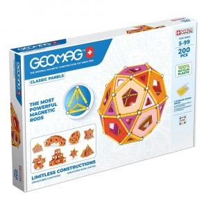Geomag Magnetisch Speelgoed Classic Panels Green Line 200-delig