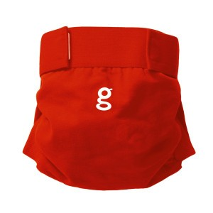 gDiapers Good Fortune Red gPants Small (3-7 kg)
