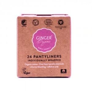 Ginger Organic Inlegkruisjes Individueel verpakt (24 stuks)
