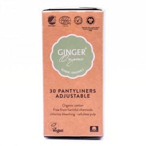 Ginger Organic Inlegkruisjes Flexibel (30 stuks)