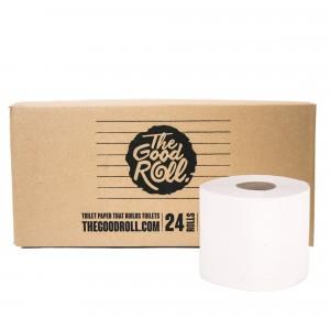 The Good Roll Gerecycleerd Toiletpapier The Wrapless Choice (24 rollen)