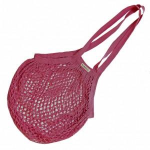 Bo Weevil Granny's nettasje met lange banden Roze