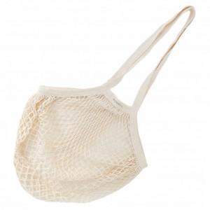 Bo Weevil Granny's nettasje met lange banden natural white