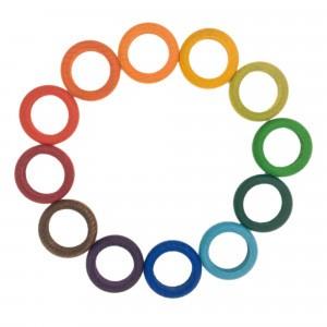 Grapat 12 houten ringen