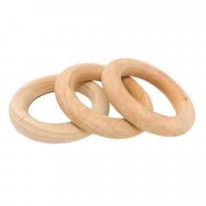 Grapat 3 kleine houten ringen