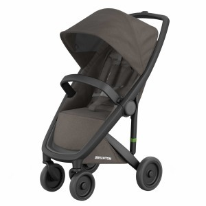 Greentom Kinderwagen Classic Zwart/Charcoal (Limited Collection)