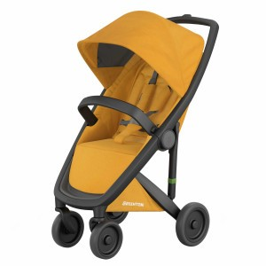 Greentom Kinderwagen Classic Zwart/Honey (Limited Collection)