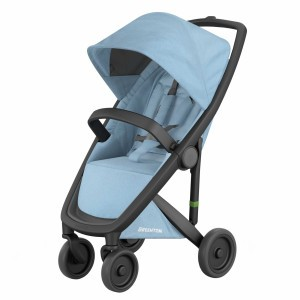 Greentom Kinderwagen Classic Zwart/Sky (Limited Collection)