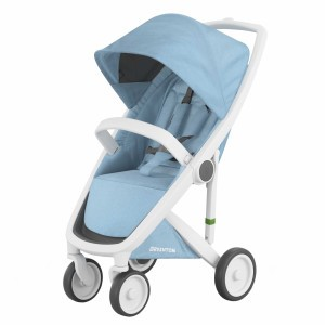 Greentom Kinderwagen Classic Wit/Sky (Limited Collection)