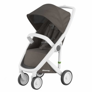 Greentom Kinderwagen Classic Wit/Charcoal (Limited Collection)