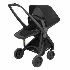 Greentom Kinderwagen Reversible Zwart/Zwart